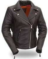 First Manufacturing Co. Women's Hourglass Leather Jacket