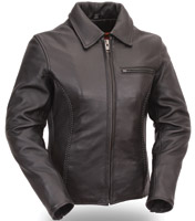 First Manufacturing Co. Women's Leather Cruiser Jacket