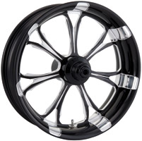 Performance Machine Paramount Platinum Black Rear Wheel, 18″ x 4.25″