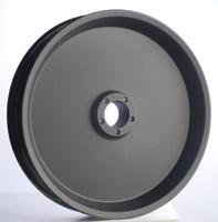 RevTech Black RevPro Front/Rear Wheel, 16