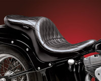 Le Pera Maverick Diamond Stitch Seat