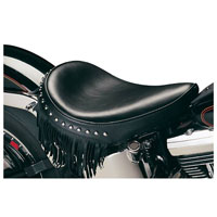 Le Pera Sanora Smooth Solo Seat with Fringe