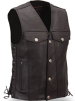 First Manufacturing Co. Men's Buffalo Nickel Vest
