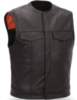 First Manufacturing Co. Men's Leather Vest