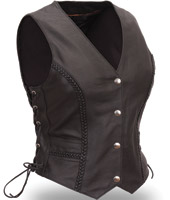 First Manufacturing Co. Women's Braided Vest