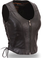First Classic Women's Clean Side Lace Vest