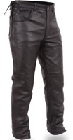 First Manufacturing Co. Men's Deep Pocket Leather Overpant