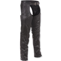 First Manufacturing Co. Unisex Patch Pocket Leather Chaps
