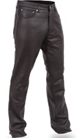 First Manufacturing Co. Men's 5 Pocket Leather Pants