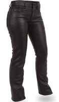 First Manufacturing Co. Women's Five Pocket Leather Jeans