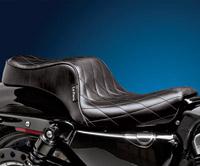Le Pera Cherokee Diamond Stitched Seat
