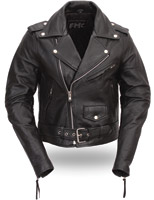 FMC Women's Classic Leather MC Jacket