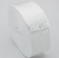 Design Engineering Inc. Budget Exhaust Wrap - White