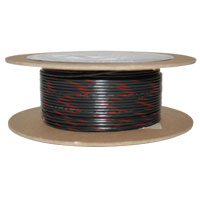 NAMZ Custom Cycle Black/Red 18-Gauge Wire
