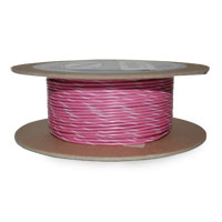 NAMZ Custom Cycle Pink/White 18-Gauge Wire