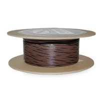 NAMZ Custom Cycle Brown/Black 18-Gauge Wire