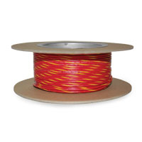 NAMZ Custom Cycle Red/Yellow 18-Gauge Wire