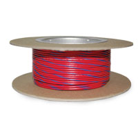 NAMZ Custom Cycle Red/Blue 18-Gauge Wire