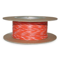 NAMZ Custom Cycle Orange/White 18-Gauge Wire