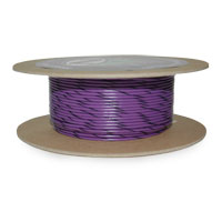 NAMZ Custom Cycle Violet/Black 18-Gauge Wire