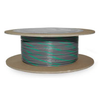 NAMZ Custom Cycle Gray/Green 18-Gauge Wire