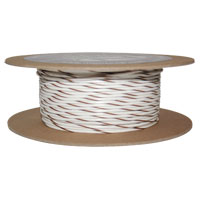 NAMZ Custom Cycle White/Brown 18-Gauge Wire