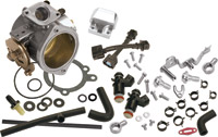 S&S Cycle 52mm Single Bore EFI Throttle Body/Fuel Rail Kit