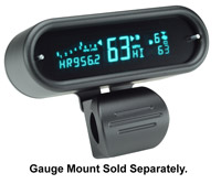 Dakota Digital Black Classic Multi-function LED Gauge