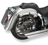 CycleVisions Bagger Tail Saddlebag Rails