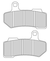 Ferodo Sintered Front/Rear Brake Pads