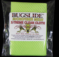 Bugslide Microfiber Mesh Polishing Cloth