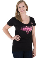 J&P Cycles® Women's Vine T-shirt