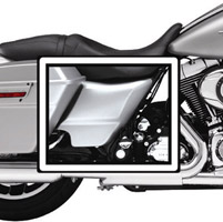 Motorcycle Armor Side Panel Film Kit for Touring Models