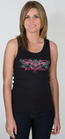 J&P Cycles® Tribal Dragonfly Women's Tank