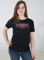 J&P Cycles® Tribal Dragonfly Women's Short-sleeve T-shirt