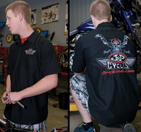 J&P Cycles® Skull Rider Mechanics Shirt
