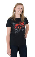 J&P Cycles® Scripted Ladies T-shirt