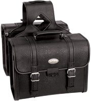 River Road Rigid Zip-Off Box Classic Saddlebags with Security Lock