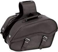 River Road Quantum Series Windswept Large Braided Saddlebags