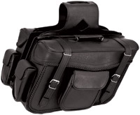 River Road Quantum Series Slant X-Large Braided Saddlebags