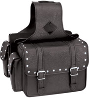River Road Momentum Series Comact Studded Saddlebags