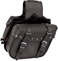 River Road Momentum Series Slant Compact Studded Saddlebags