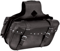 River Road Momentum Series Slant Medium Studded Saddlebags