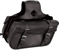River Road Momentum Series Slant Medium Braided Saddlebags
