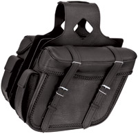 River Road Momentum Series Slant Large Braided Saddlebags