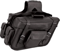 River Road Momentum Series X-Large Braided Saddlebags