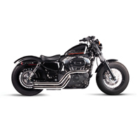 Rinehart Racing Cross Backs 2-into-2 Flush Style Exhaust