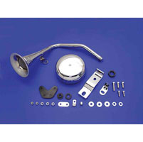 Chrome Trumpet Horn Kit for Sportster