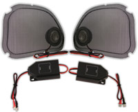 Hawg Wired Steel Mesh Speaker Grills with Tweeter Kit for FLTR