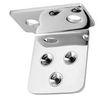 V-Twin Manufacturing Chrome Horn Bracket for Sportster